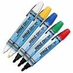 Dykem Rinz-Off 41093 Black Broad Marking Pen - 44109