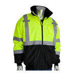 PIP Black/Yellow Large Polyester Cold Condition Jacket - 616314-11888