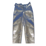 Chicago Protective Apparel Large Aluminized Rayon Fire Resistant Pants - 606-ARH LG