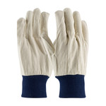 PIP 90-908BW Blue Cotton Canvas General Purpose Gloves - Straight Thumb