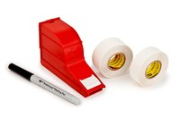 3M ScotchCode SWD-R White Electrical Marking Tape Refill Roll - 3/4 in Width x 1 3/8 in Length - 56220