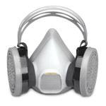 Sperian Survivair Large Elastomeric Half Facepiece Respirator - 040025-402687