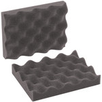 Shipping Supply Charcoal Foam Sheets - 8 in x 6 in x 2 in - SHP-13466