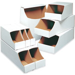 "Stackable Bin Boxes, 2"" x 12"" x 4 1/2"" - 50 EACH PER BUNDLE"
