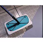 ITW Texwipe Alphamop Polyester Foam Wet Mop - Fiberglass 60 in Autoclavable Handle - 15 in Head Length - 8 in Head Width - TX7108