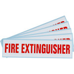 Brady SV089E Fire Extinguisher Label - 47176