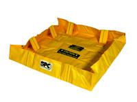 Brady Yellow 119 gal Portable Berm 110548 - 4 ft Width - 6 ft Length - 8 in Height - 662706-83585