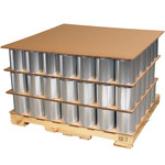 Shipping Supply Kraft Corrugated Sheets - 72 in x 48 in - SHP-13055