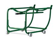 Justrite 600 lb Drum Cradle - 22 1/2 in Width - 35 1/2 in Length - 35 1/2 in Height - 08800