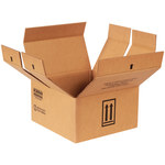 Shipping Supply Kraft 1 Gallon Haz Mat Boxes - 14.25 in x 14.25 in x 7.875 in - SHP-2214