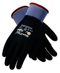 PIP MaxiFlex Ultimate 34-876 Black/Gray Large Lycra/Nylon Work Gloves - EN 388 1 Cut Resistance - Nitrile Full Coverage Coating - 9.1 in Length - 34-876/L