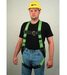 Miller HP 650DT Blue Universal Vest-Style Back Padding, Shoulder Padding Body Harness - Polyester Webbing - 612230-01322