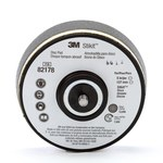3M 82178 Soft Black Stikit Disc Pad - 5 in Diameter - 1 1/4 in Thick - 5/16-24 External Thread Attachment