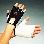 Impacto 40130 Large Leather/Nylon Mechanic's Gloves - 40130110042