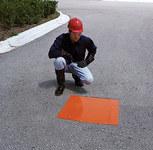 Sellars Orange Polyurethane Drain Seal - 18 in Width - SELLARS 92126