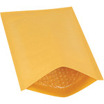 Shipping Supply Kraft #1 Heat-Seal Bubble Mailers - 12 in x 7.25 in - SHP-3484