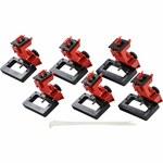 Brady TAGLOCK Red Fiberglass Reinforced Nylon/Polypropylene Circuit Breaker Lockout Device 148691 - 3.75 in Width - 2.358 in Height - 754473-58190