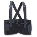 Valeo VEH9 Black Large Back Support Belt - No Lumbar Pad - 9 in Width - 35 to 40 in Waist Sizes - 736097-00414