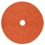 3M 787C Ceramic Orange Quick Change Fibre Disc - Fibre Backing - 120+ Grit - 7 in Diameter - 89660