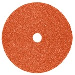 3M 787C Ceramic Orange Quick Change Fibre Disc - Fibre Backing - 36+ Grit - 7 in Diameter - 89632