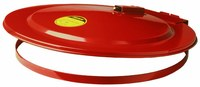 Justrite Red Steel Drum Cover - 697841-00979