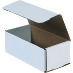 Oyster White Corrugated Mailer - 8 in x 4 in x 3 in - SHP-2555