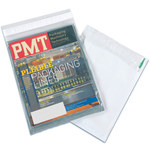 Clear/White Poly Mailers - 12 in x 9 in - 3 Mil Poly Thick - SHP-3727