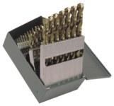 Cleveland 2213 NAS 907 TYPE J Jobber Drill - Split 135° Point - Spiral Flute - Right Hand Cut - M42 High-Speed Steel - 8% Cobalt - C70365