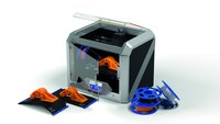 Dremel 3D40-FLX-01 Black and Silver 3D Printer - 20.25 in Width - 16 in Height - 05428