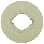 Weiler Nylox 1 1/4 in Adapter - Use With 10 in Nylox Centering Wheel, 12 in Nylox Centering Wheel, 14 in Nylox Centering Wheel - Arbor Hole Diameter: 2 in - 03405