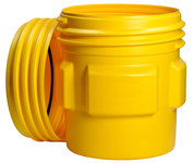 Brady Yellow Polyethylene 20 gal Spill Containment Drum 89151 - 662706-83522