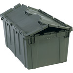 Grey Round Trip Totes - 25.75 in x 16 in x 12.5 in - SHP-3066