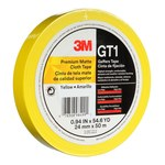 3M GT1 Yellow Gaffer's Tape - 24 mm Width x 50 m Length - 11 mil Thick - 98499