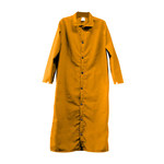 Chicago Protective Apparel Orange Large Indura Work Jacket - 50 in Length - 603-IND-O LG