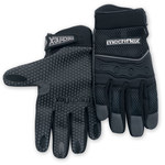 Chicago Protective Apparel Mechflex Black Large Synthetic Leather Mechanic's Gloves - MX-50 LG