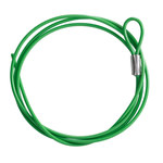 Brady Green Lockout Cable 122262 - 1.5 m Length - 754473-71206