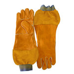 Chicago Protective Apparel Split Leather Welding Glove - 18 in Length - 125-WS-589-CL