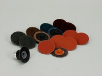 3M Roloc Coated Sanding Disc Set - Quick Change Attachment - 1 1/2 in Diameter Included - 82901