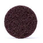 3M Scotch-Brite Non-Woven Aluminum Oxide Purple Quick Change Disc - Medium - 3 in Diameter - 64206