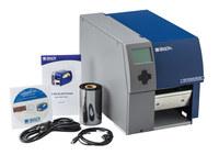 Brady Bradyprinter BP PR600+-PPR Desktop Label Printer with Peel & Present - Barcode Capability Single Color - 4.7 in Max Label Width - 9.8 in/sec - 600 dpi - BP-PR600+-PPR