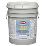 Krylon Industrial Line-Up 04042 White Acrylic Latex Paint - 5 gal Pail - 00404