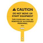 Brady Yellow Steering Wheel Lockout - 12 in Wide - 151874