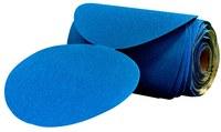 3M Stikit Blue Abrasive Ceramic Aluminum Oxide Disc Roll 80 Grit - 6 in Diameter - 36202