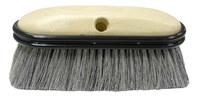 Weiler 443 Vehicle Wash Brush - Gray Fiber Bristle - Foam Block - 2 3/4 in Head Width - 44318