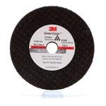 3M Aluminum Oxide Cutoff Wheel - 3 in Diameter - 3/8 in Center Hole - 1/16 in Thickness - 01988