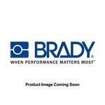Brady 98851 White Nylon Tag Tie - 8 in Length