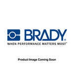 Brady Pull-Tite Yellow Polypropylene Non-Adhesive Tamper-Evident Seal - 9 in Length - Cinch/Pull Seals Seal Type - 754473-90027