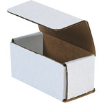 Oyster White Corrugated Mailer - 4 in x 2 in x 2 in - SHP-2480
