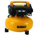 Dewalt 6 gal Pancake Air Compressor - 165 psi Max - DWFP55126