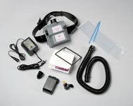 3M Air-Mate AMH-1U HEPA PAPR & SAR Assembly - Assembly Only - Belt-Mounted - 8 hr Ni-Cd - 051131-98703